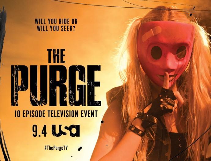 Постеры к сериалу Судная ночь (The Purge)