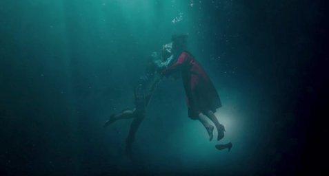 Кадры из фильма Форма воды