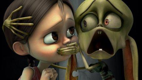 Кадры из мультфильма Ана и Бруно (Ana y Bruno)