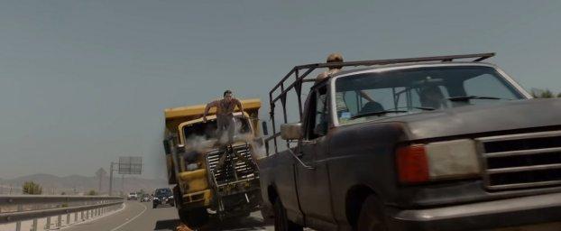 Кадры из фильма Терминатор: Темные судьбы (Terminator: Dark Fate)